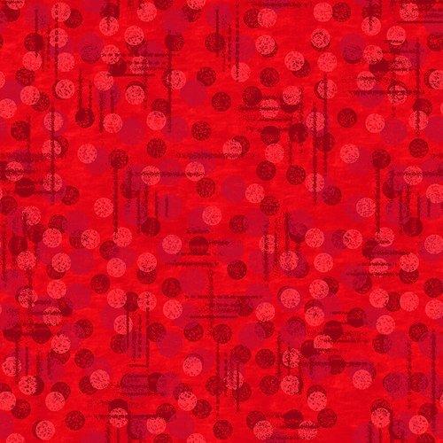 108' Jot Dot Red