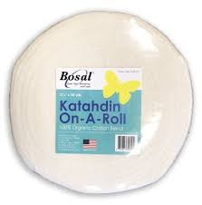 Bosal Katahdin On A Roll 100% Cotton 50yd, 2.25