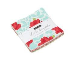 Little Snippets Charm Pk 5 42 squares
