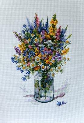 Merejke The Thistle Bouquet Cross Stitch Kit