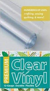Clear Vinyl 12 gauge, 16 x 1 1/2 yard roll