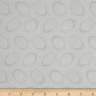 Fat Quarter - Aboriginal Dot, Silver