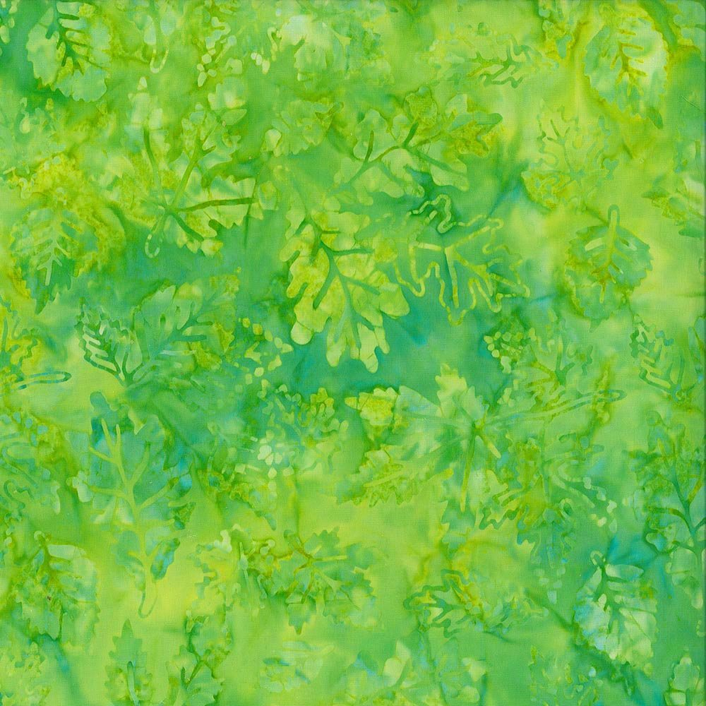 Falling Leaves, Lime Green