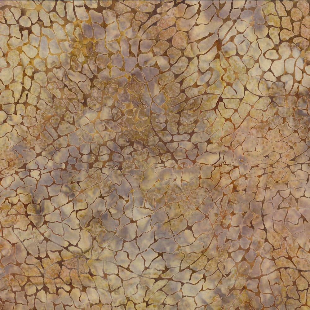 Batik Crackle, Brown/Grey