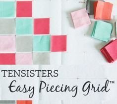 Easy Piecing Grid Panel, 1 Finished
