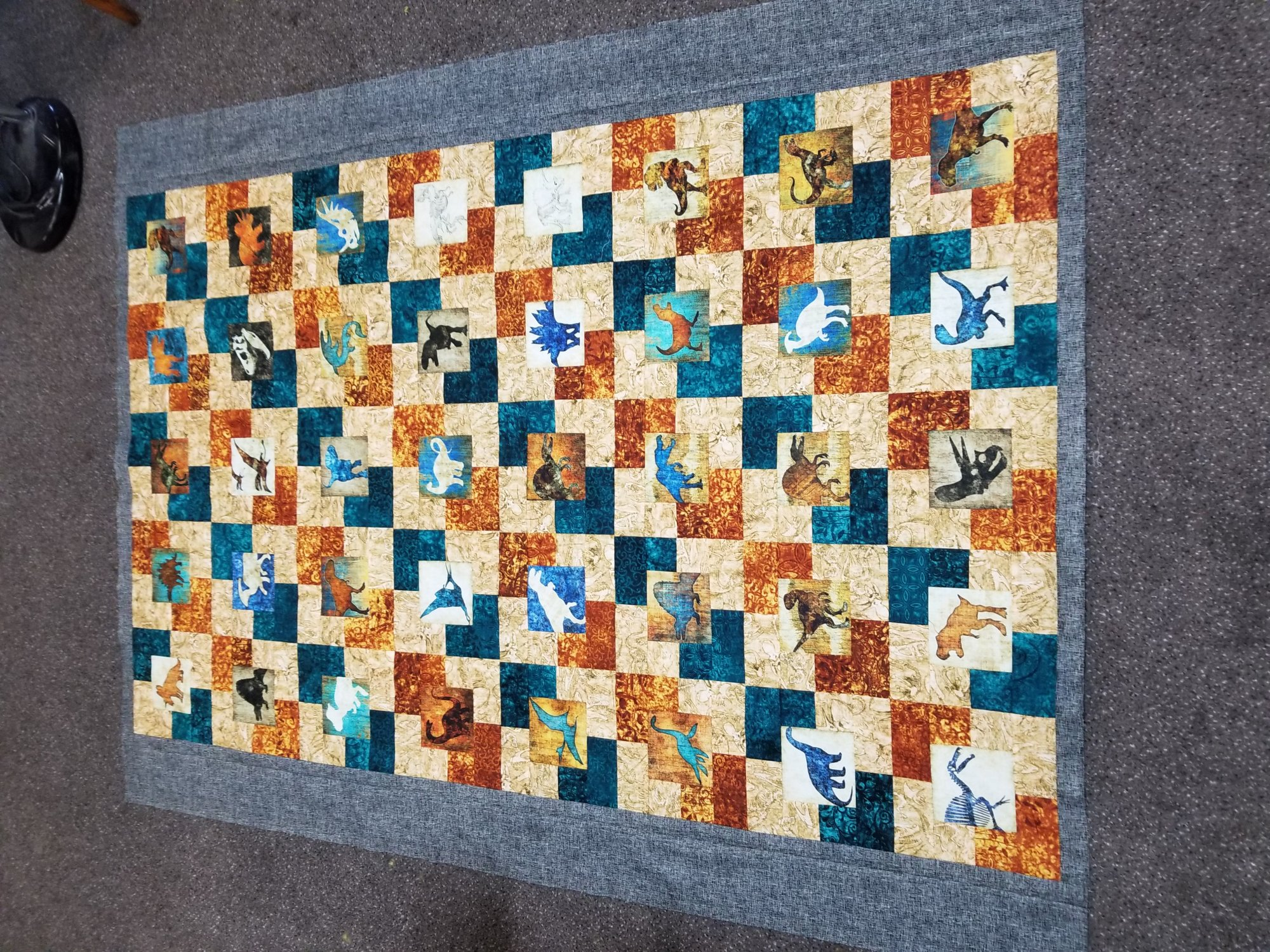 Free 4 inch Panel Quilt