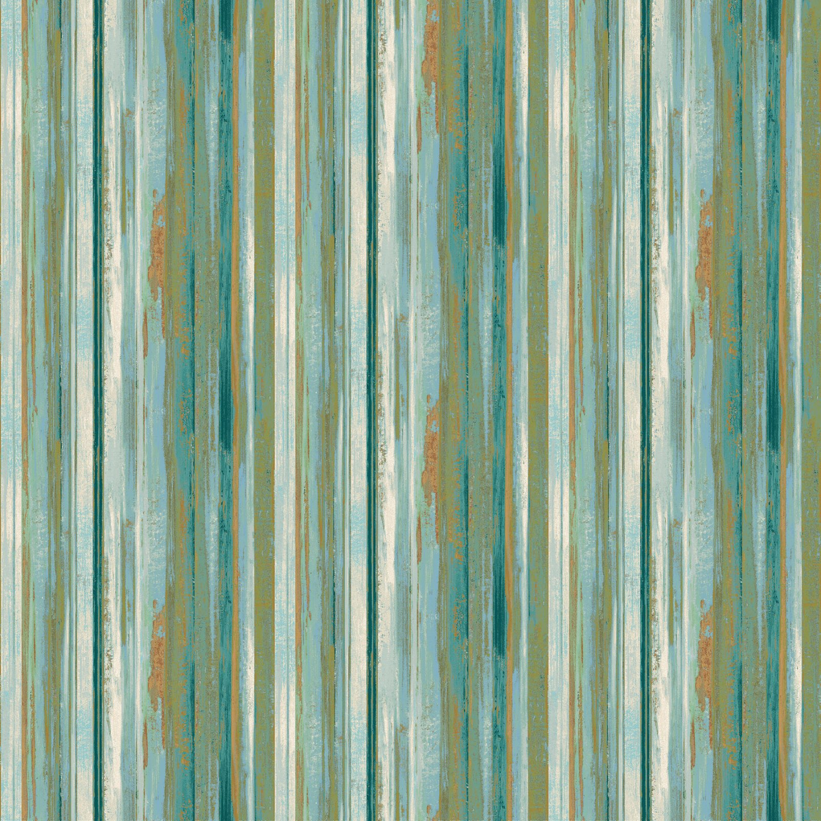 Urban Reflections Teal Multi strip