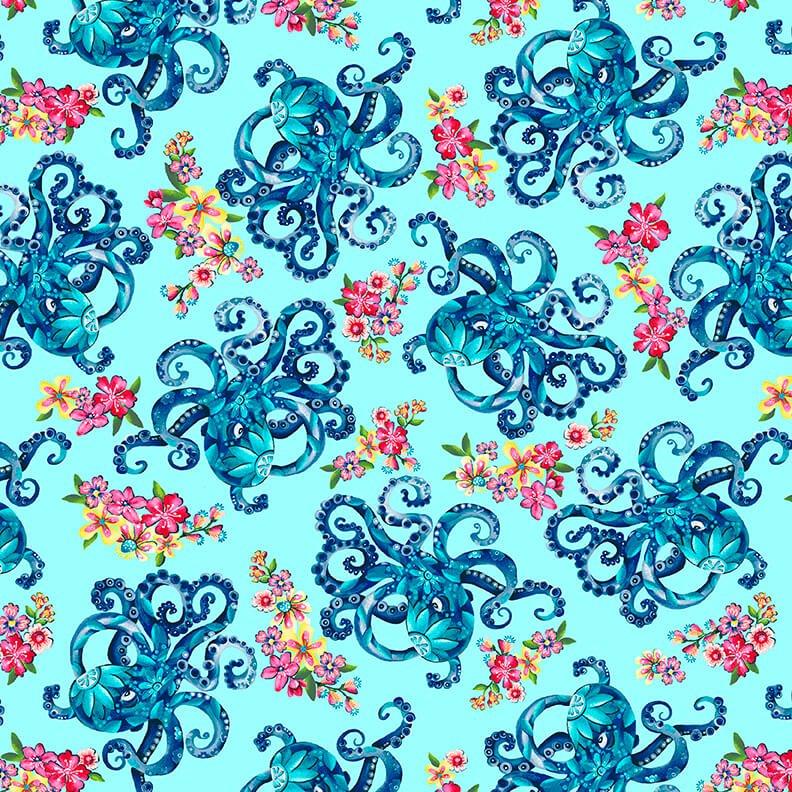Blooming Ocean 5403-17 Lt. BlueOctopus's Garden