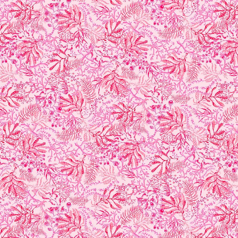 Blooming Ocean 5404-22 Lt.. Pink Seaweed