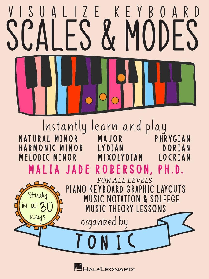 Visualize Keyboard Scales & Modes