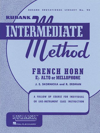 Rubank Intermediate Method Book French Horn
