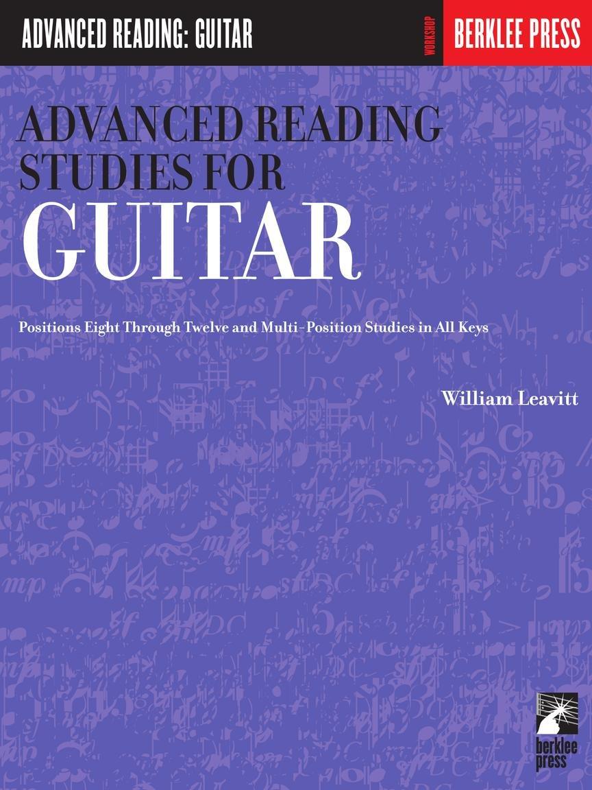 ADVANCED READING STUDIES FOR GUITAR Guitar Technique