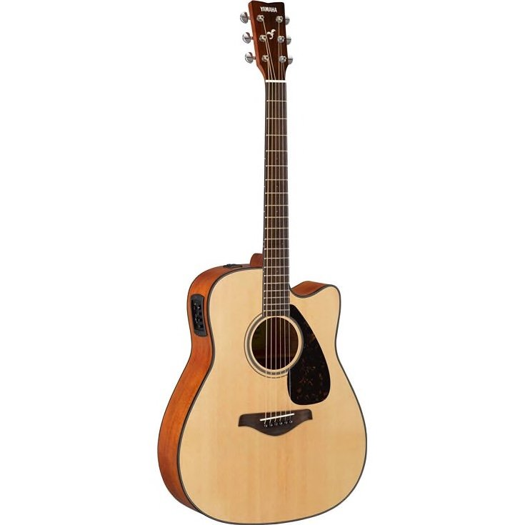 FGX800C Solid Spruce top acoustic electric yamaha guitar