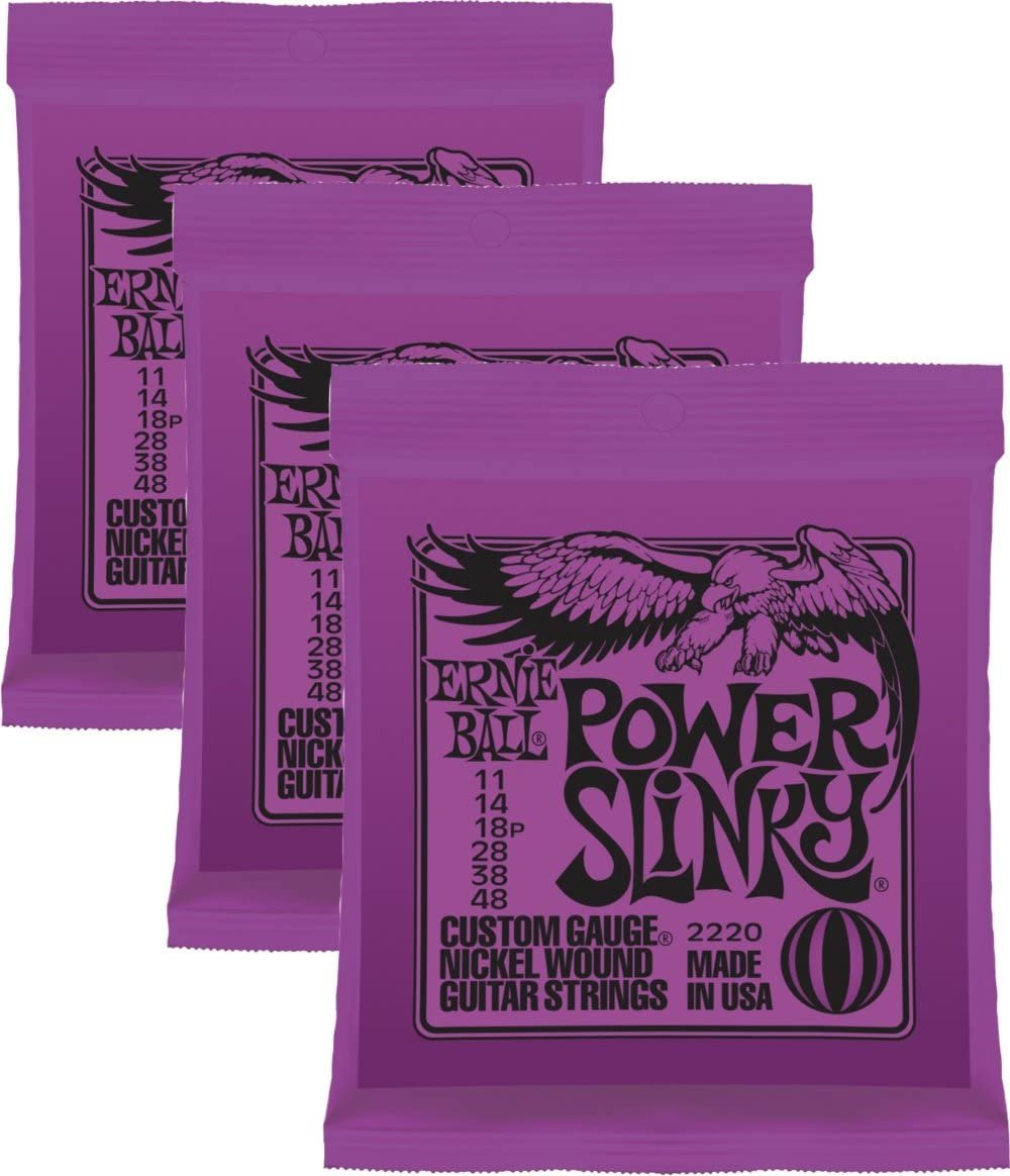 Ernie ball Power Slinky 3 pk