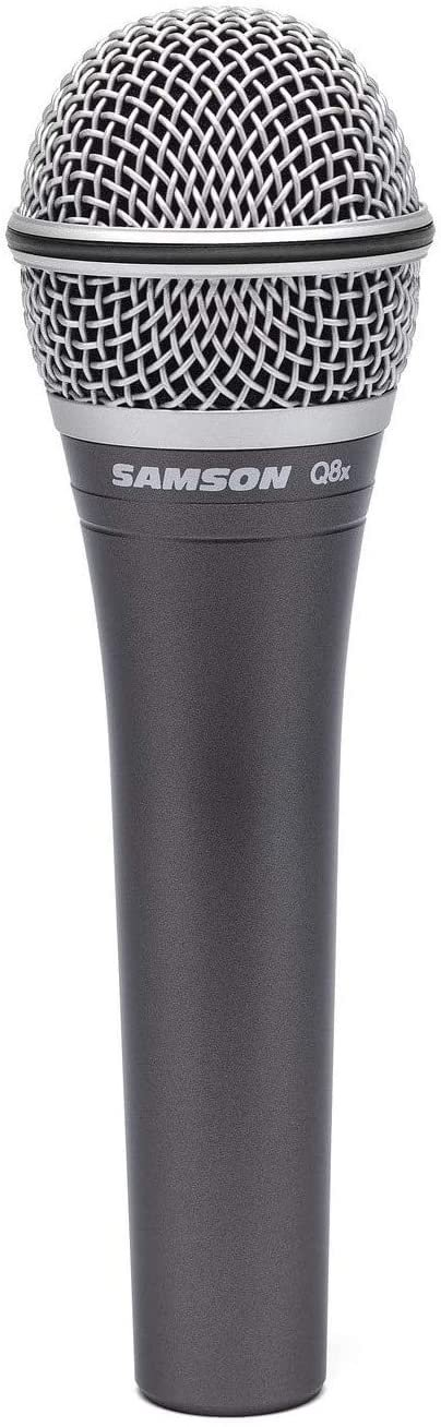 Samson Q8x Professional Dynamic Vocal Microphone