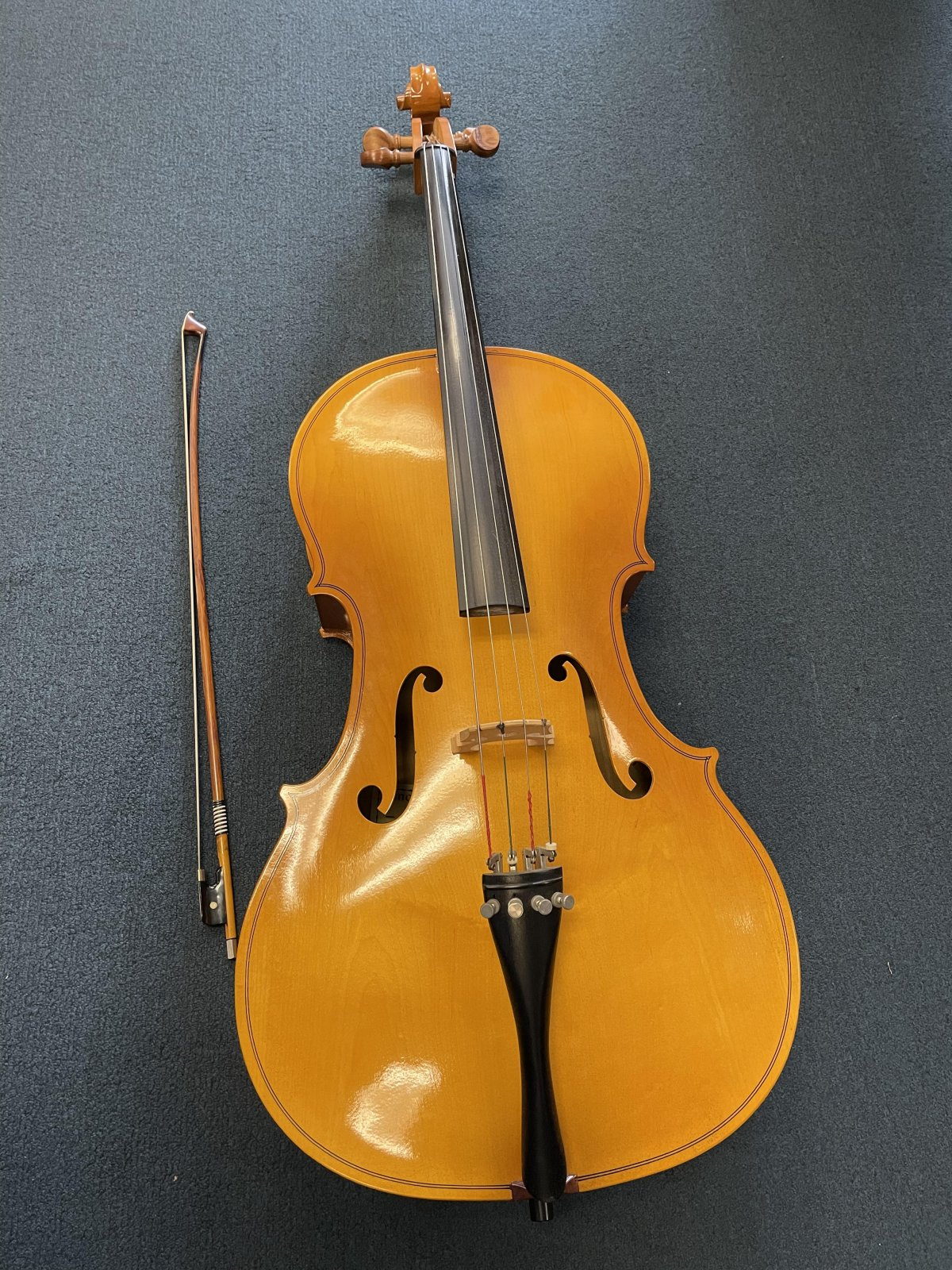 Engelhardt 4/4 Cello outfit used-(consignment)