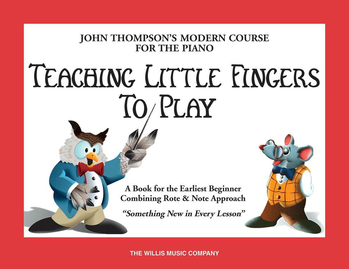 John Thompson Teaching little fingers to play