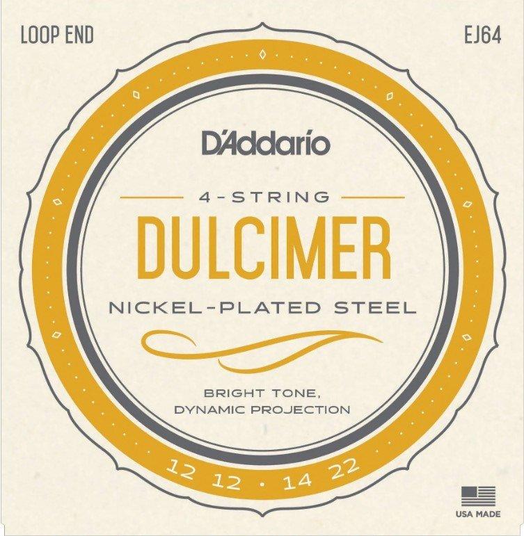 D'Addario 4 string dulcimer
