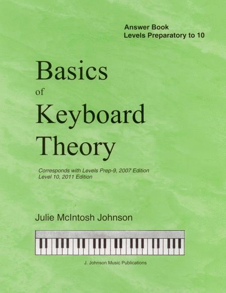 Basics Of Keyboard Theory Answer Book Julie Johnson