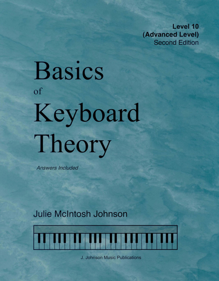 Basics Of Keyboard Theory Level 10 Julie Johnson
