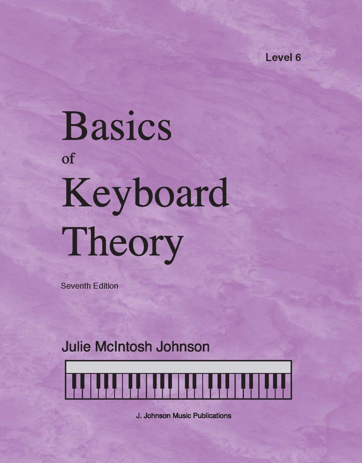 Basics Of Keyboard Theory Level 6 Julie Johnson
