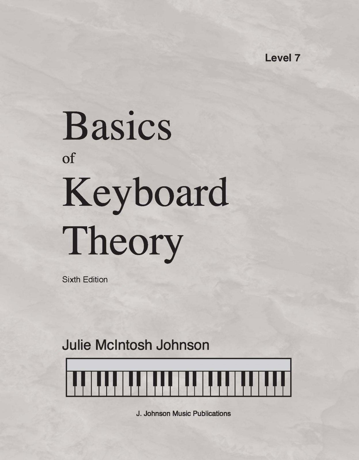 Basics Of Keyboard Theory Level 7 Julie Johnson