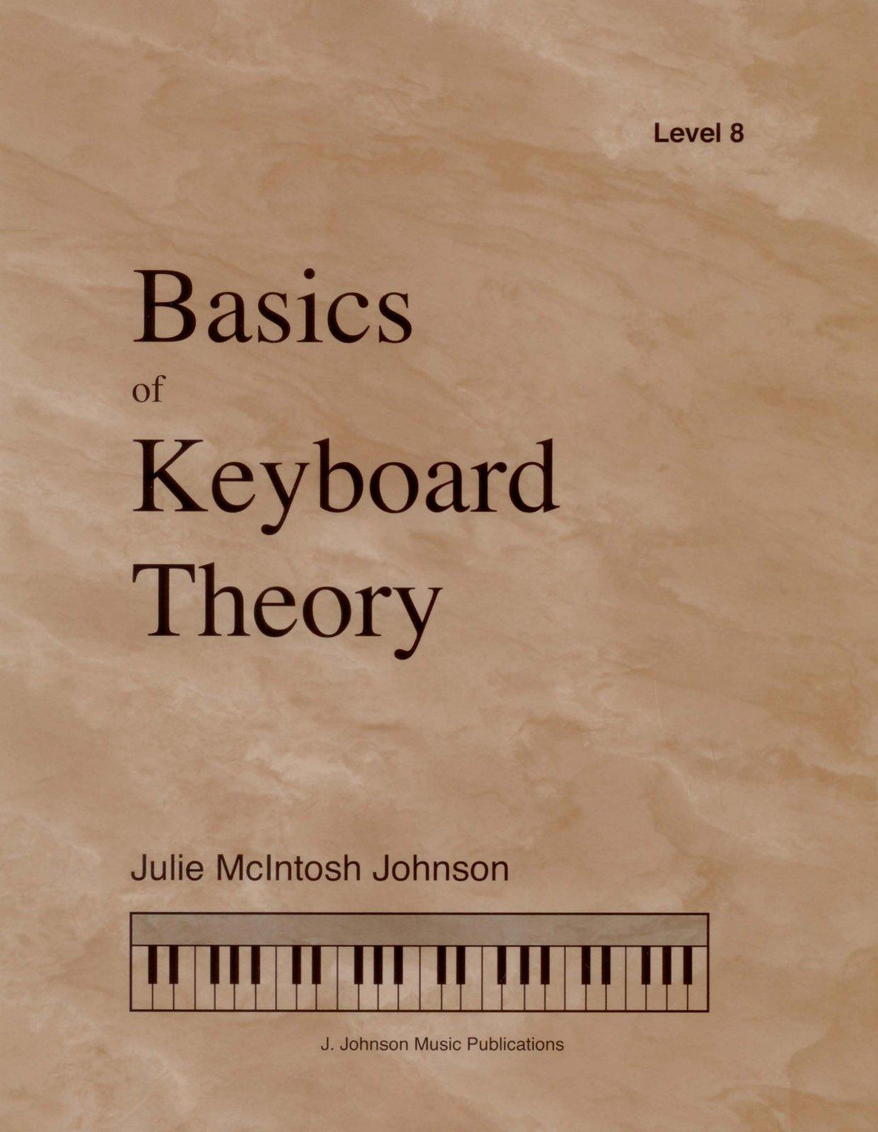 Basics Of Keyboard Theory Level 8 Julie Johnson