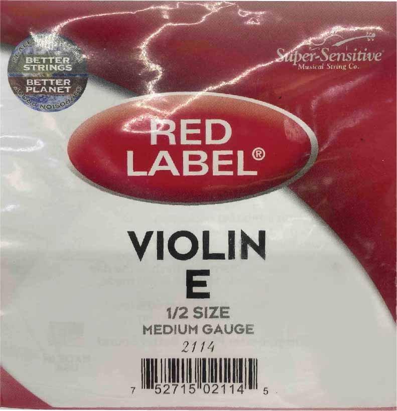 Red Label 1/2 Violin E String