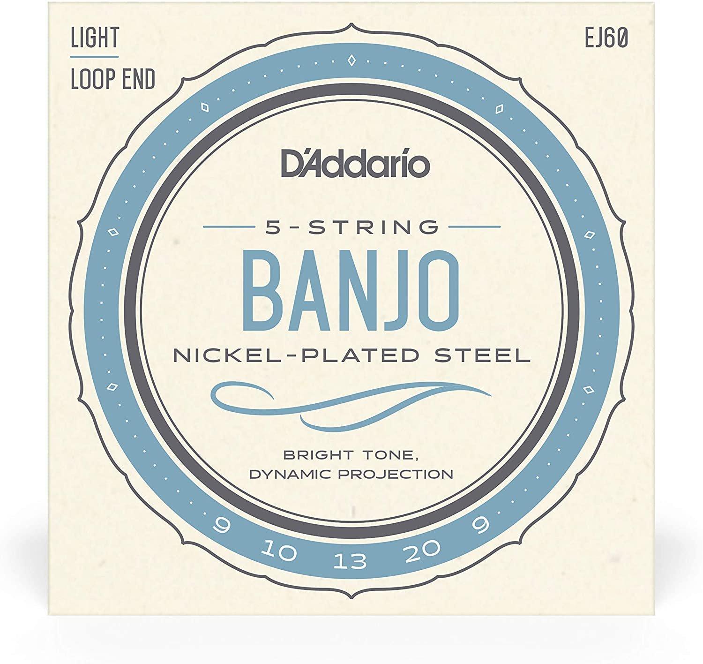 d'Addario 5 String banjo Light