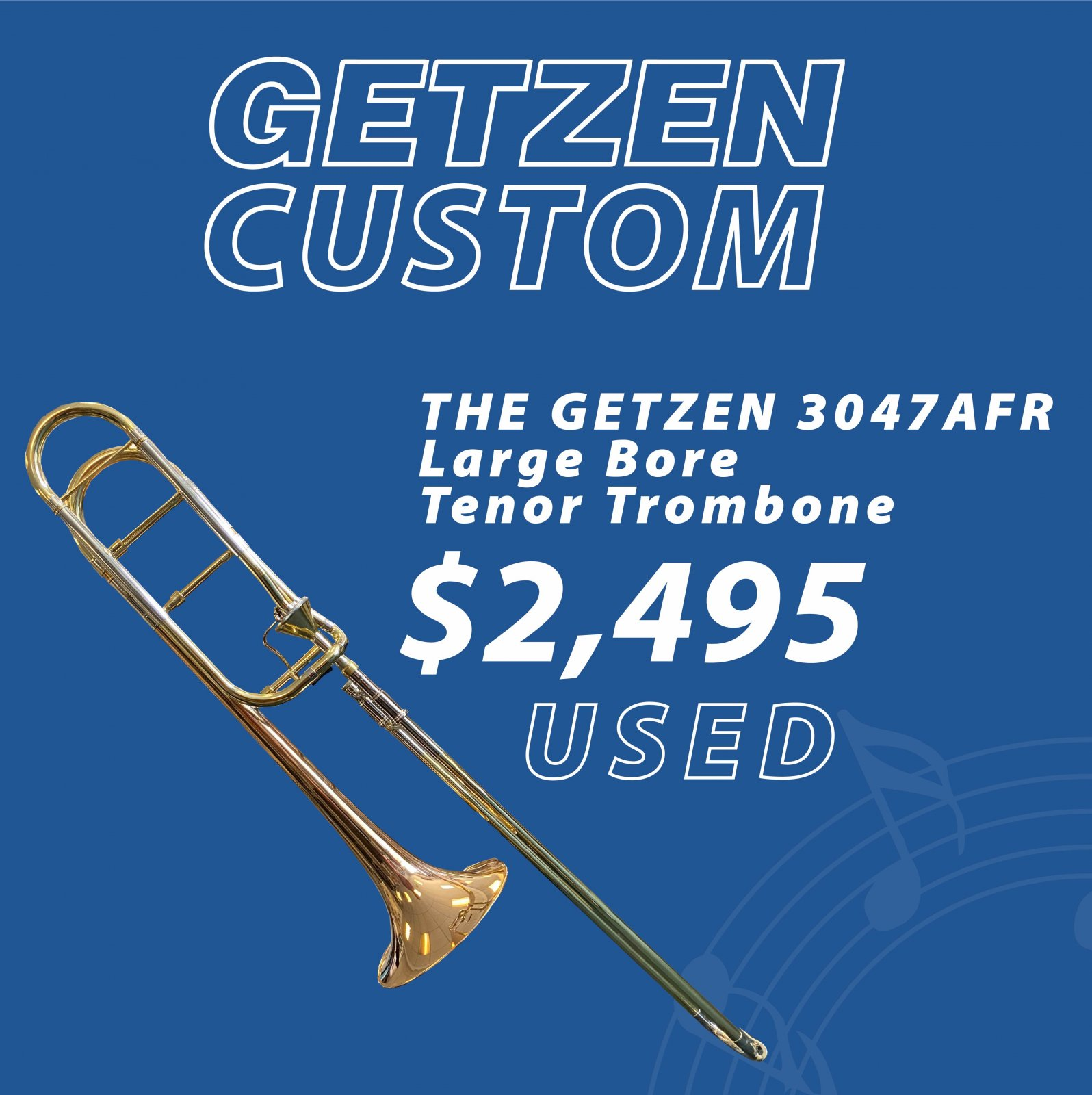 Getzen Custom 3047 AFR Tenor Trombone (used)