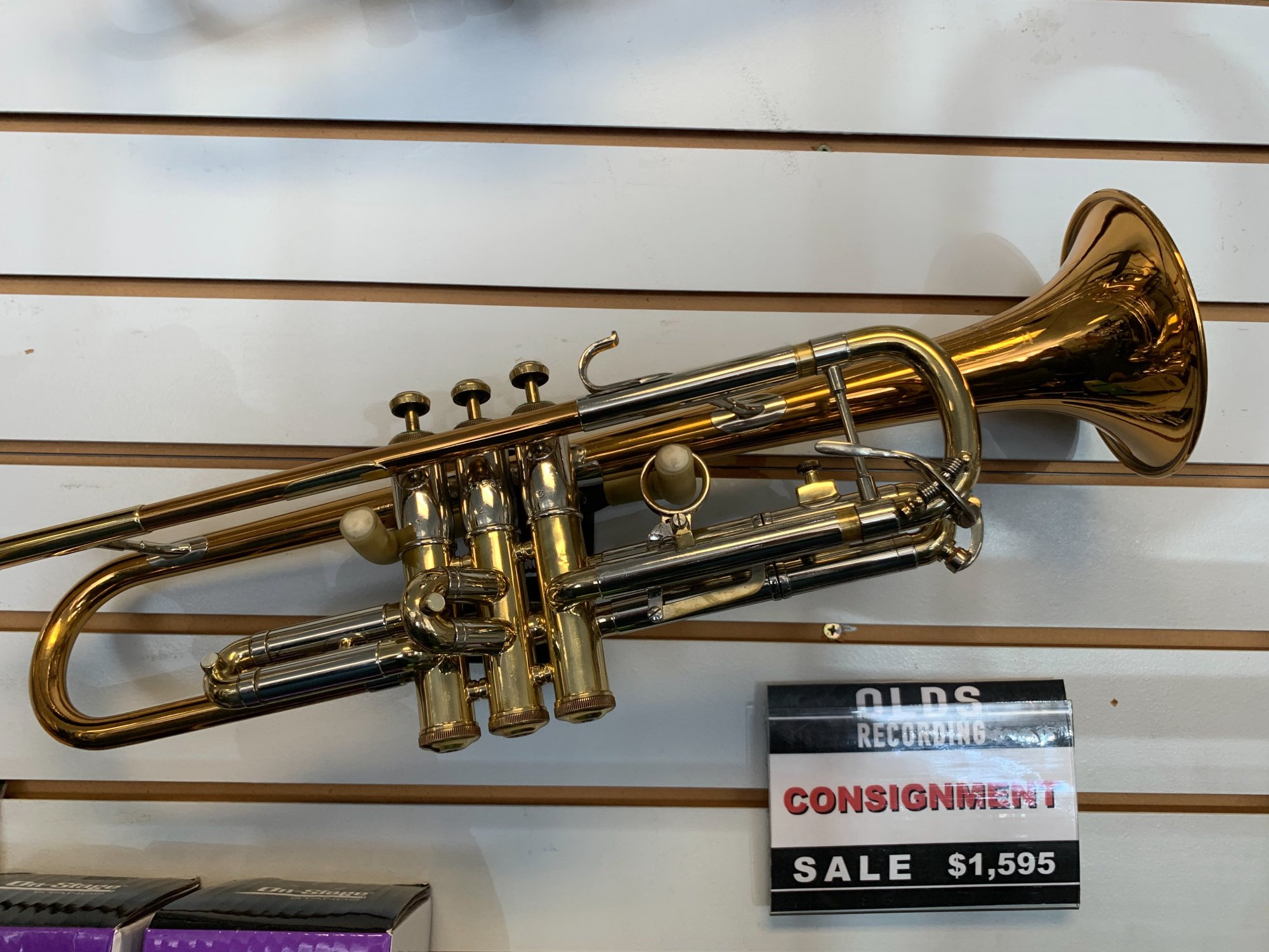 Olds Recording Trumpet (used)