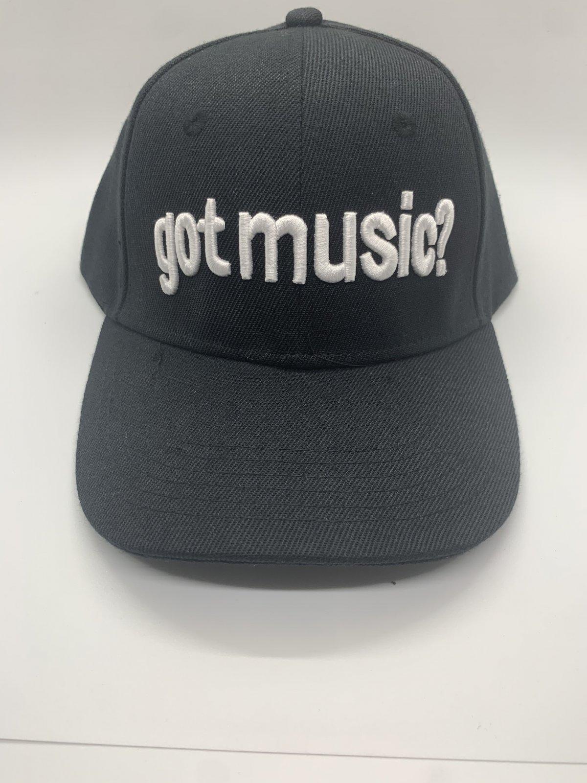 Got Music Hat in Black