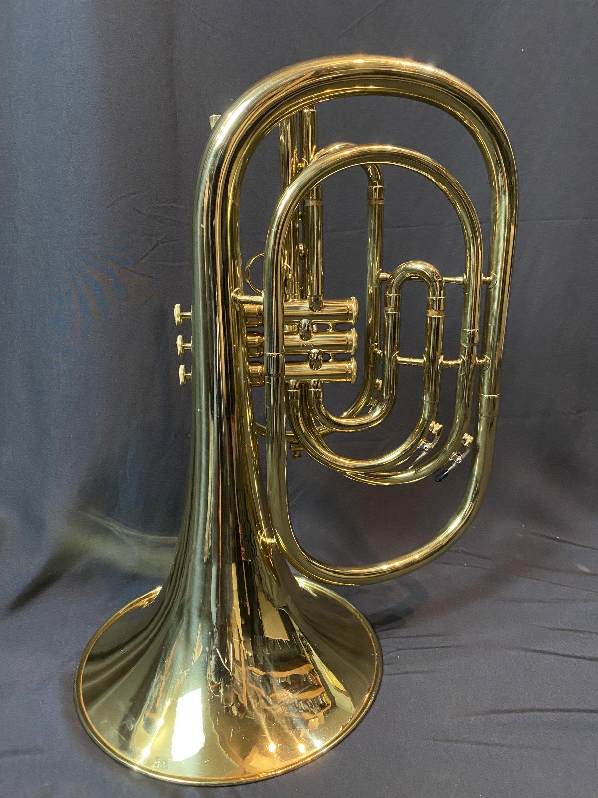 Kanstul Custom Class Marching French Horn 285  (used)