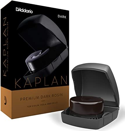 D'Addario Kaplan Premium Dark Rosin With Case