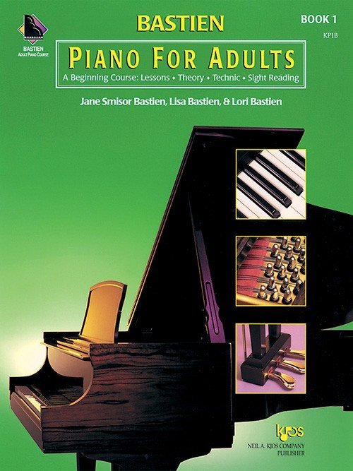 Bastien Piano For Adults - Book 1 (Book & CD)