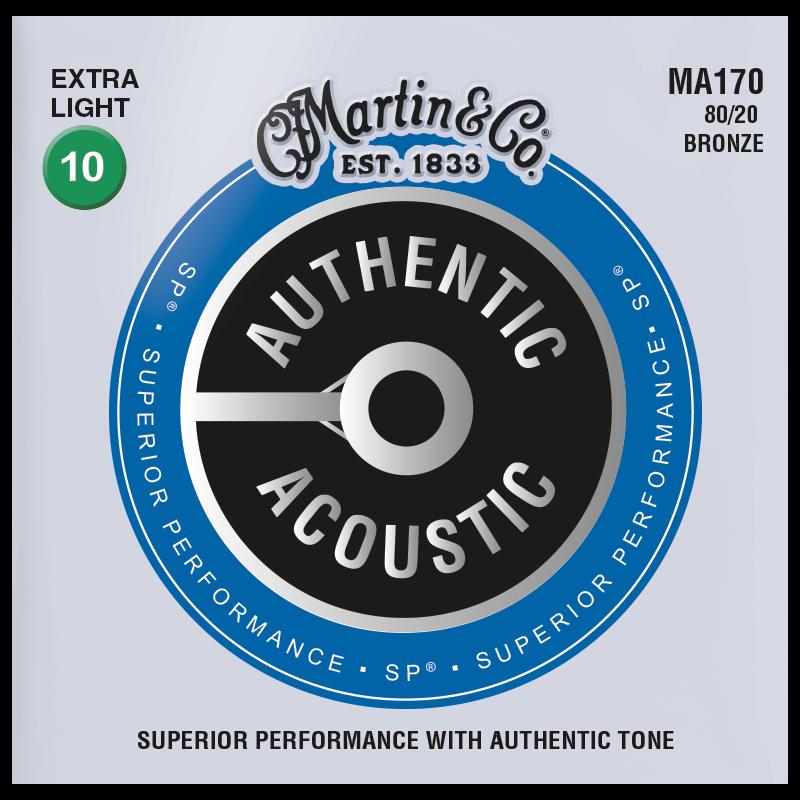 Martin Authentic 80/20 Ex Lite
