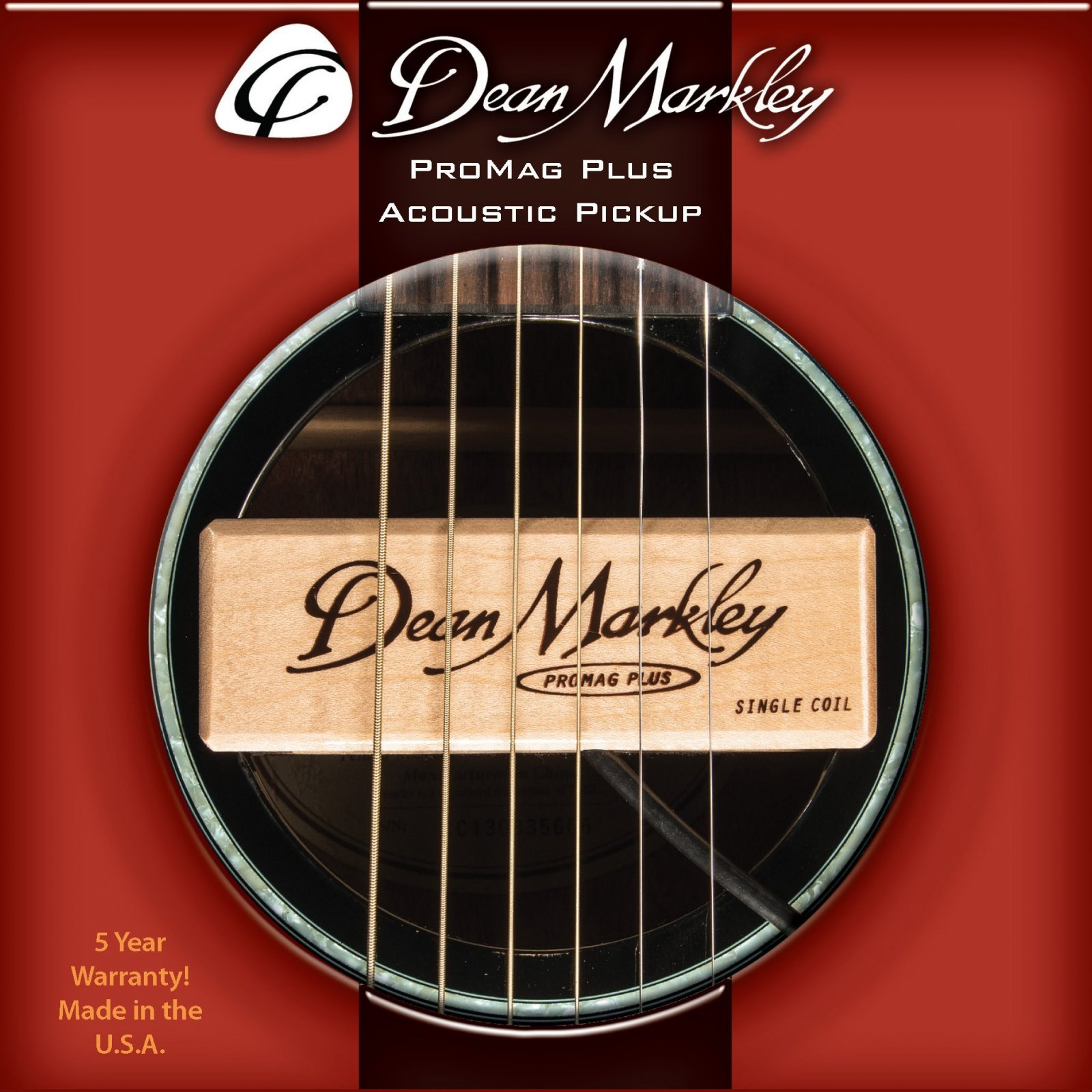 Dean Markley ProMag Acoustic Pickup