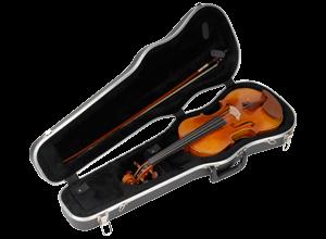 SKB 4/4 Violin /14 Inch Viola Deluxe Case