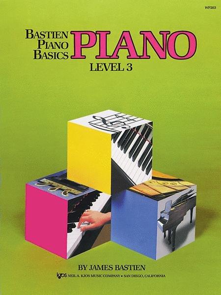 Bastien piano basics PIANO Level 3