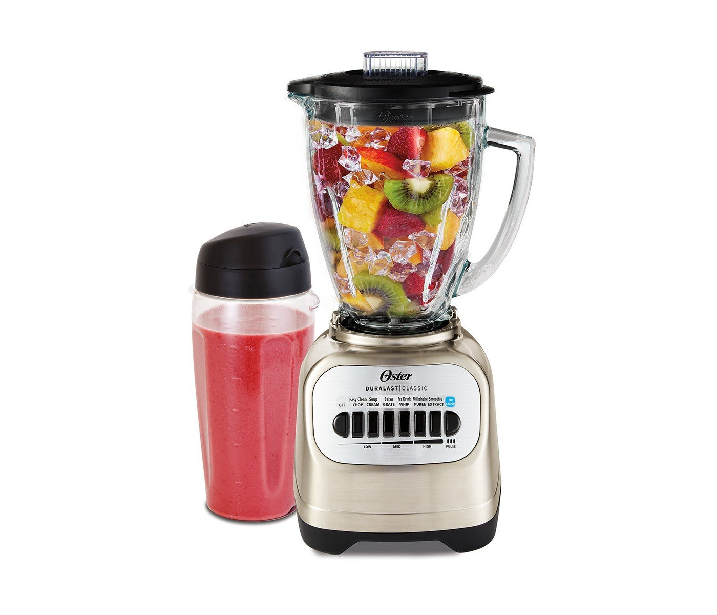 BLSTCG-CBG: Oster Classic Series Blender with Travel Smoothie Cup