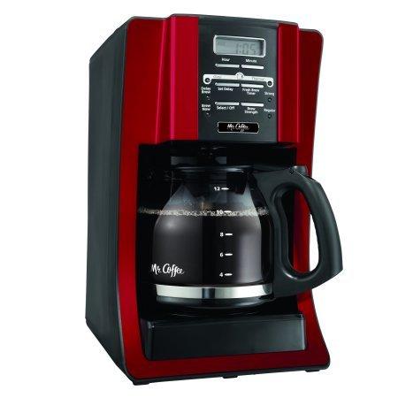 BVMC-SJX36: Mr. Coffee 12 Cup Programmable Coffee Maker