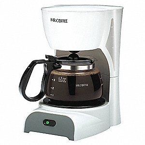 TF6: Mr. Coffee 5-Cup Switch Coffeemaker