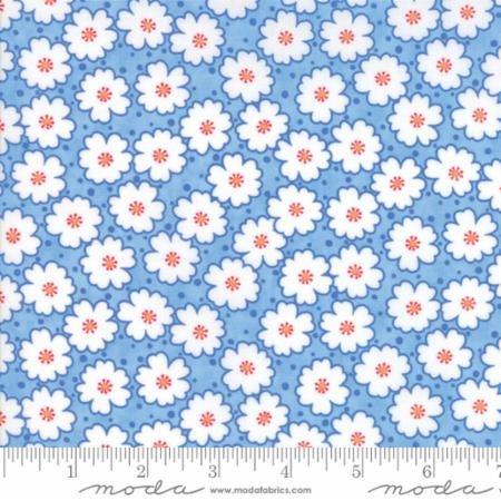 Badda Bing Lg Flowers Blue