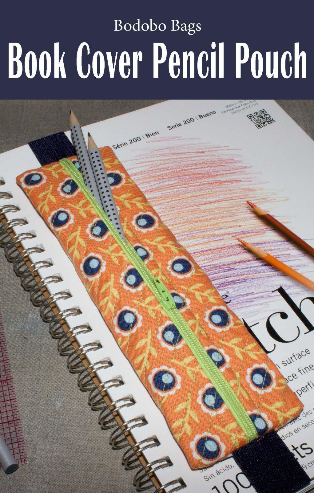 Book Cover Pencil Pouch