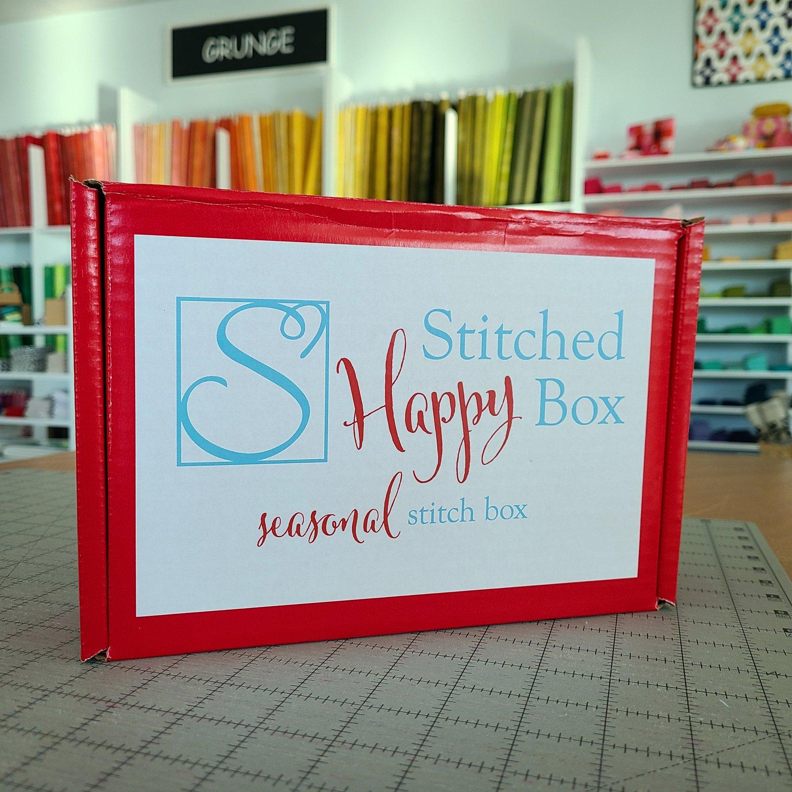 Seasonal Stitched Happy Box - must be shipped