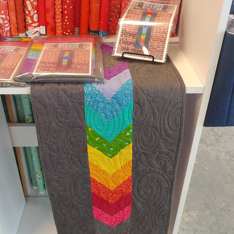 Flying Colors Table Runner Kit