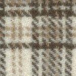 F8 PRI Ecru Glens Plaid Wool
