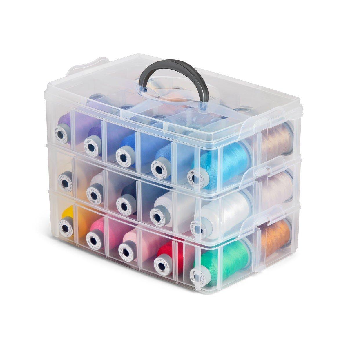 Carry Case Organizer W/Lid single layer