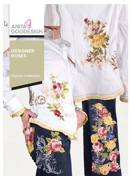 Anita Goodesigns - Designer Roses