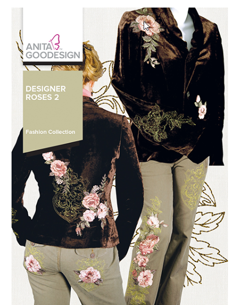 Anita Goodesigns - Designer Roses 2